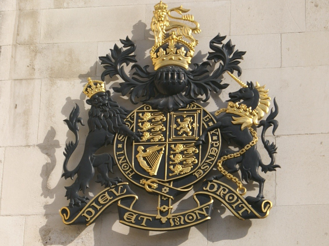 Royal Courts of Justice coat of arms