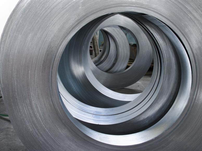 Wheels of rolled steel