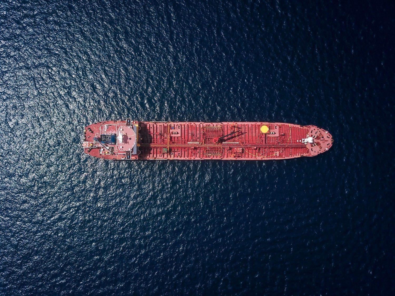 Shipping tanker