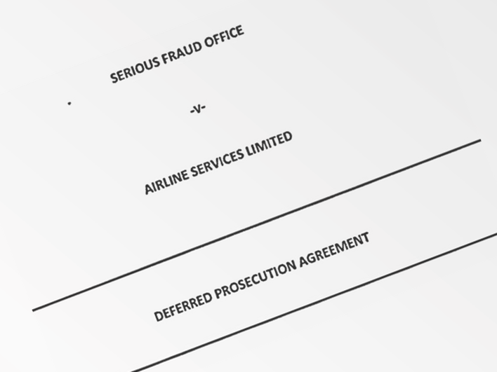 Airline Services Limited v Serious Fraud Office - Deferred Prosecution Agreement